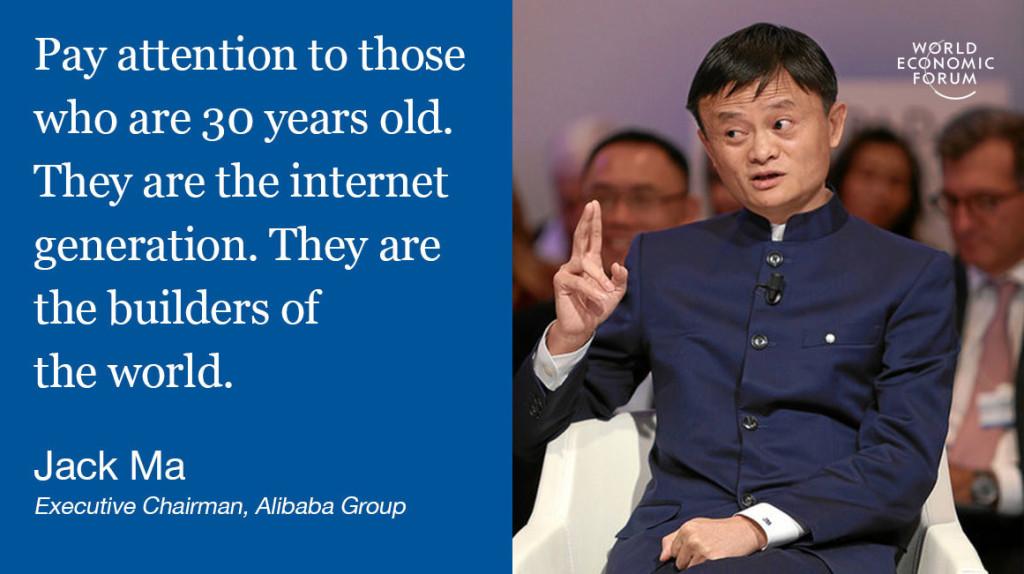 Jack Ma internet generation